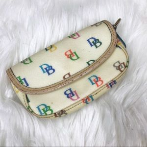 Dooney & Bourke Color Signature Mini Change Purse